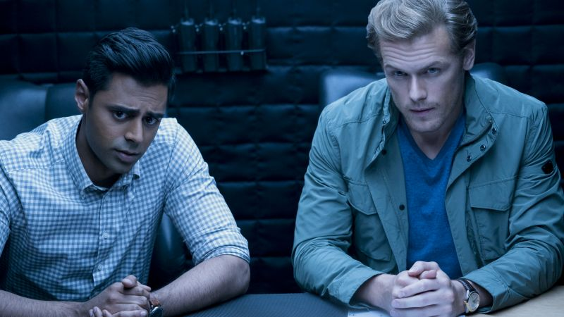 The Spy Who Dumped Me, Sam Heughan, Hasan Minhaj, 4k (horizontal)