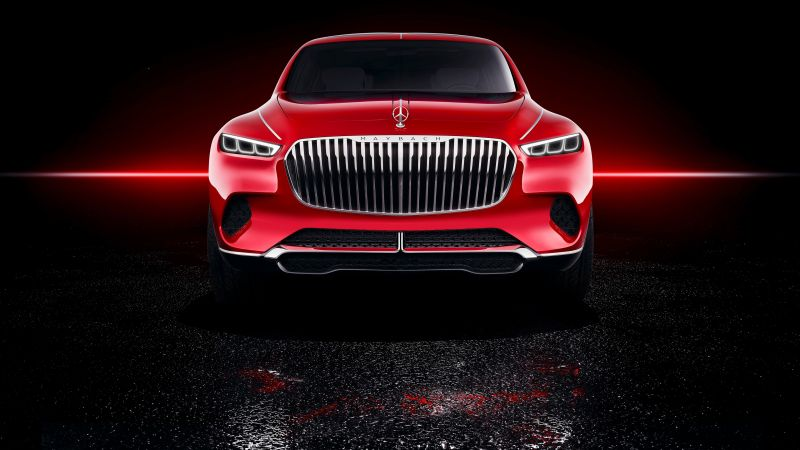 Vision Mercedes-Maybach Ultimate Luxury, electric cars, 4k (horizontal)