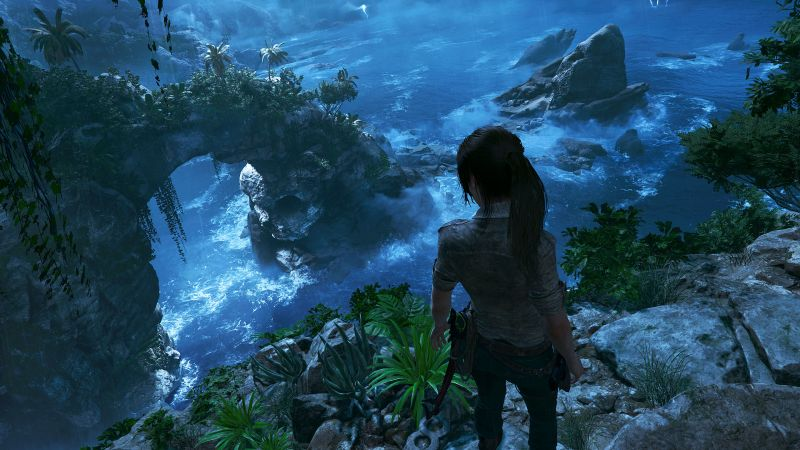 Shadow of the Tomb Raider, Lara Croft, screenshot, 4k (horizontal)