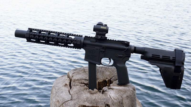 Lone Wolf G9 AR 15 Lower Receiver GLOCK Magazine
