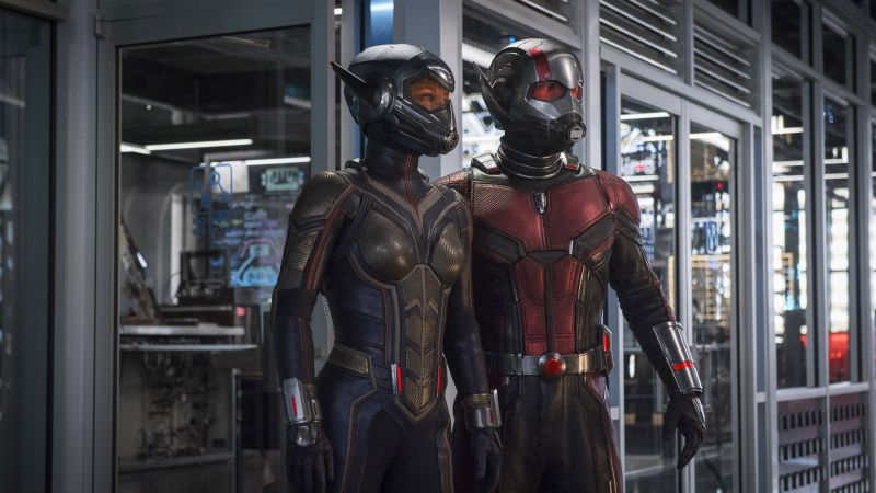 Ant-Man and the Wasp, Evangeline Lilly, Hannah John-Kamen, 4K (horizontal)