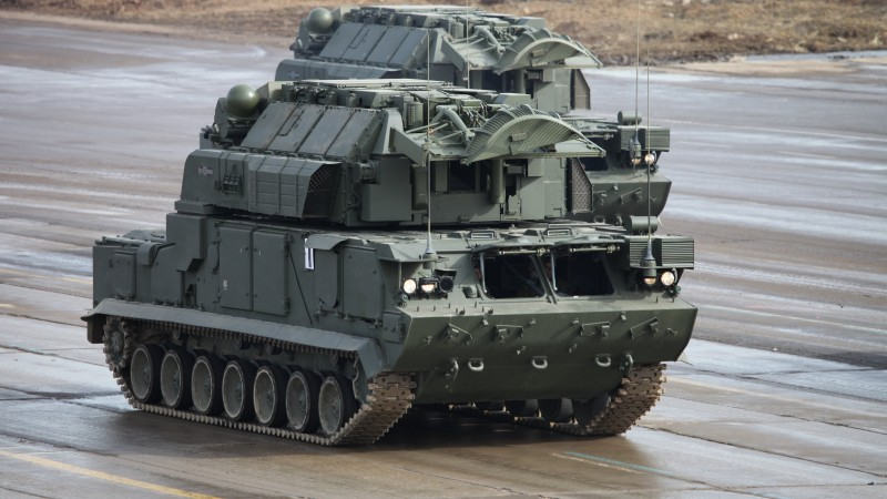SA-15 Gauntlet, Tor, missile system, 9K330, Russian Army (horizontal)