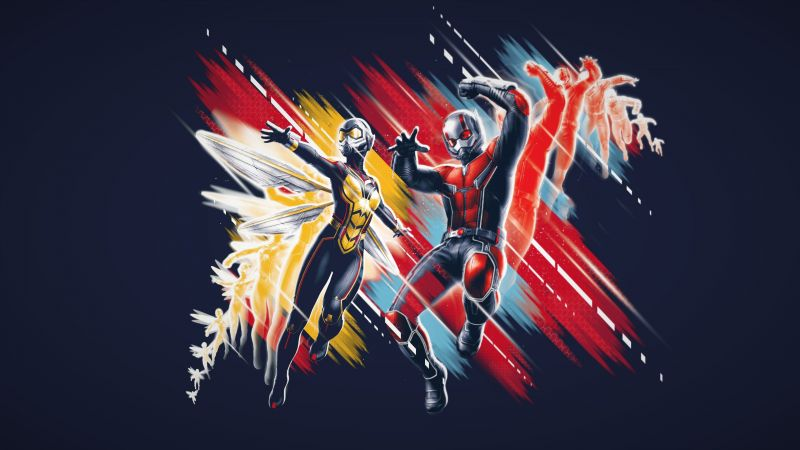 Ant-Man and the Wasp, poster, 4K (horizontal)