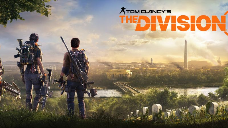 Tom Clancy's The Division 2, E3 2018, poster, 7K (horizontal)