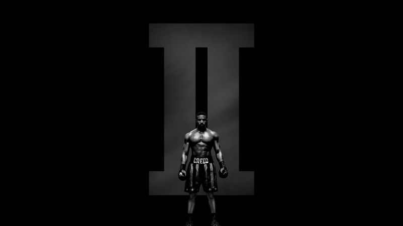 Creed 2, Adonis Johnson, poster, 8K (horizontal)