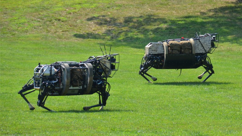 LS3, Cujo, Best Robots of 2015, robotic mule, army, robot, U.S. Army, test, patrol (horizontal)