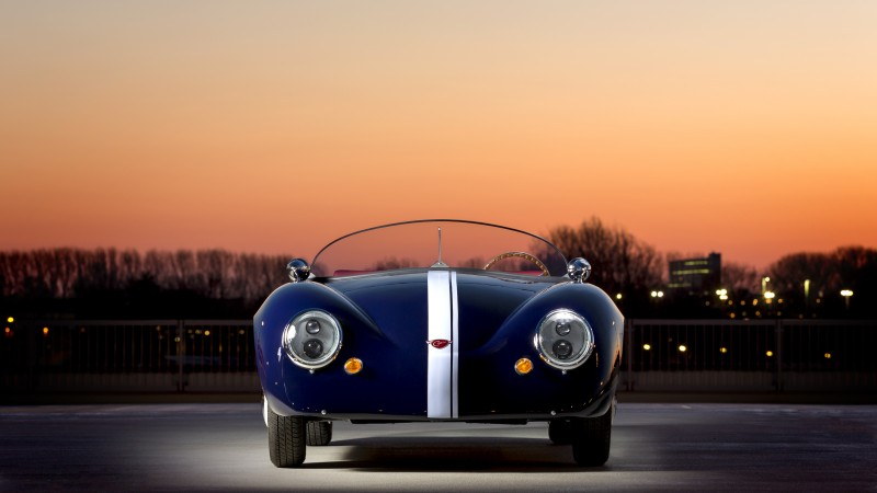 Carice MK1, roadster, supercar, Carice Cars, retro, luxury cars, front, limited edition