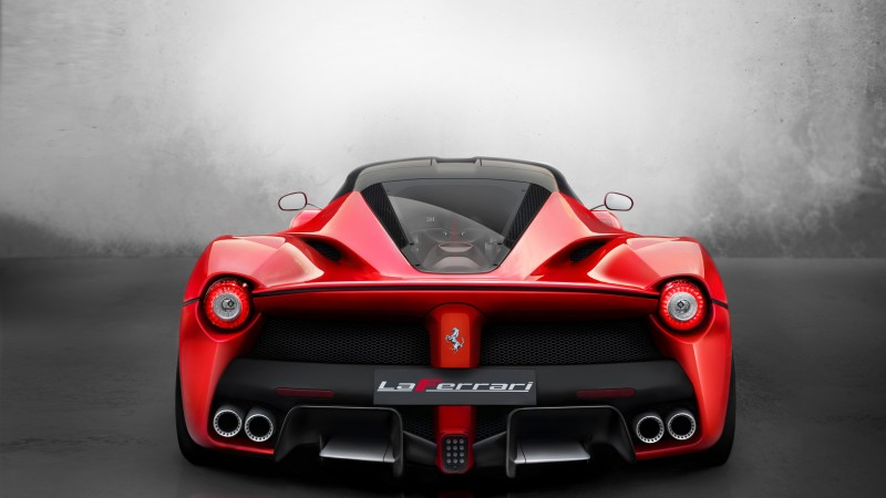 Ferrari LaFerrari, hybrid, sports car, Ferrari, supercar, F150, F70, limited edition, back