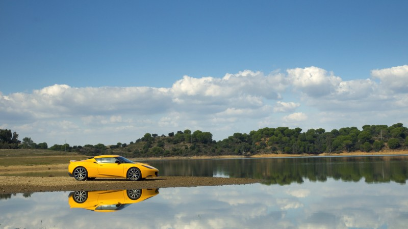 Lotus Evora S, supercar, Lotus, sports car, luxury cars, review, nature, yellow, test drive, buy, rent (horizontal)
