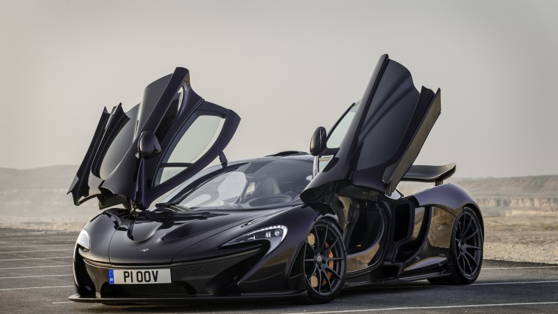 McLaren P1, supercar, McLaren, luxury cars, sports car, hybrid, P1 GTR, speed, test drive, doors, 2015 Detroit Auto Show. NAIAS (horizontal)