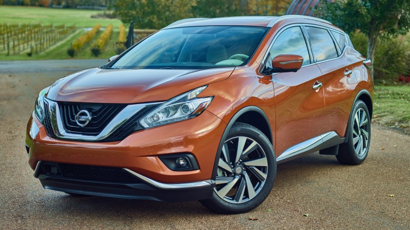 Nissan Murano, crossover, Nissan, Gen 3, SUV, 2015 car, front, review, rent, buy, 2015 Detroit Auto Show. NAIAS (horizontal)