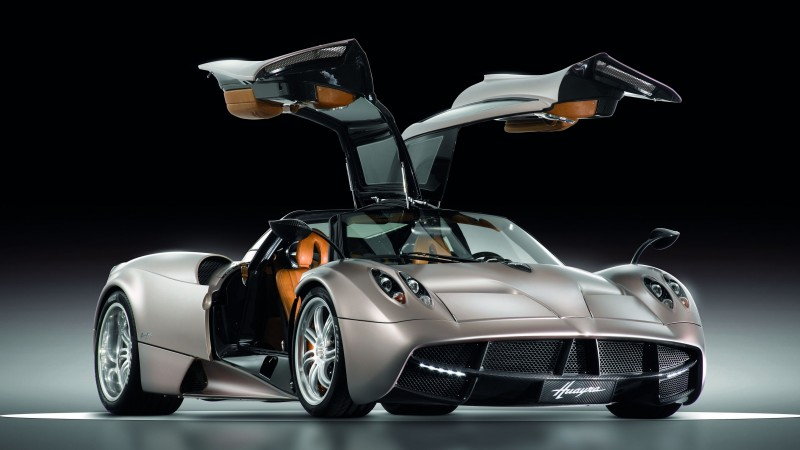 Pagani Huayra, supercar, Pagani, sports car, luxury cars, speed, test drive, doors, front, review (horizontal)