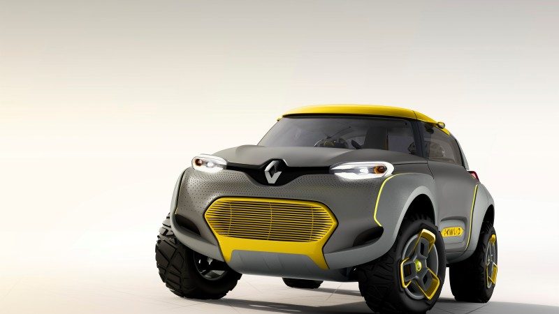 Renault KWID, concept, Renault, crossover, CUV, review, test drive, front (horizontal)