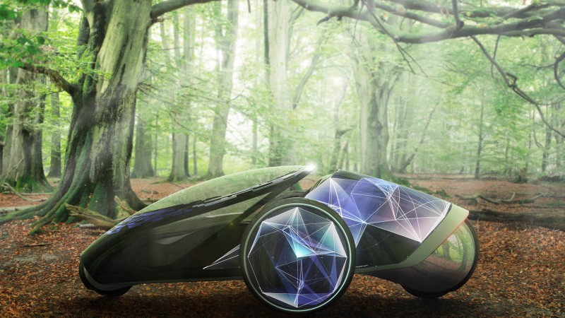 Toyota FV2, concept, Toyota, ecosafe, electric cars, review, display, test drive, forest (horizontal)