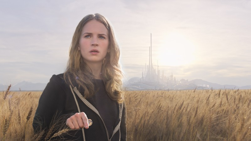 Tomorrowland, 2015, movie, film, fairy tale, mistery, George Clooneyy Frank Walker, Britt Robertson, Casey Newton (horizontal)