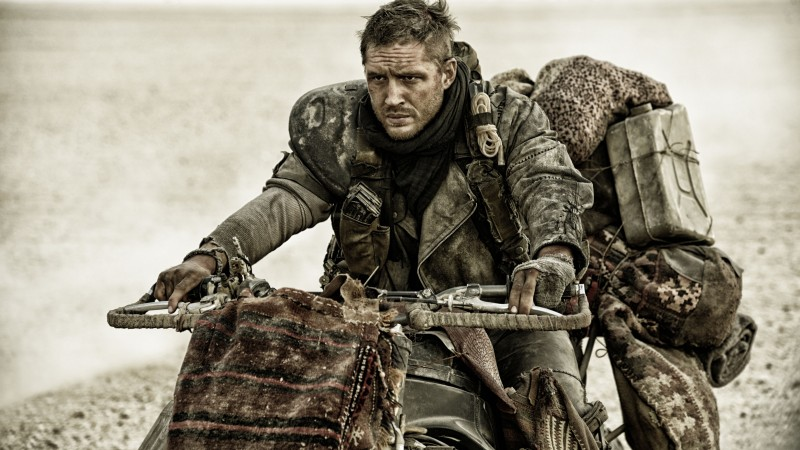 Mad Max: Fury Road, Best Movies of 2015, film, post-apocalyptic, Tom Hardy (horizontal)