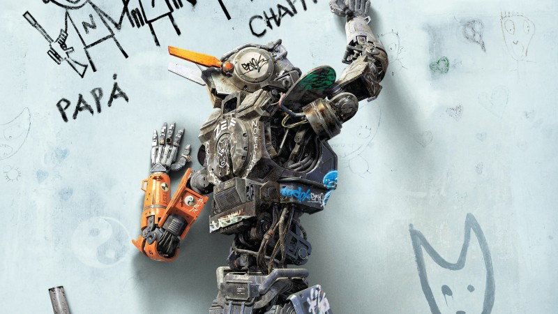Chappie, Best Movies of 2015, robot, wallpaper (horizontal)