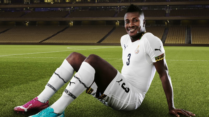Football, Asamoah Gyan, soccer, Al Ain, Ghanaian national team, footballer, Striker