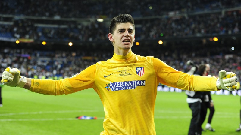 Football, Thibaut Courtois, soccer, The Best players 2015, Chelsea, Goalkeeper, footballer, Thibaut Nicolas Marc Courtois