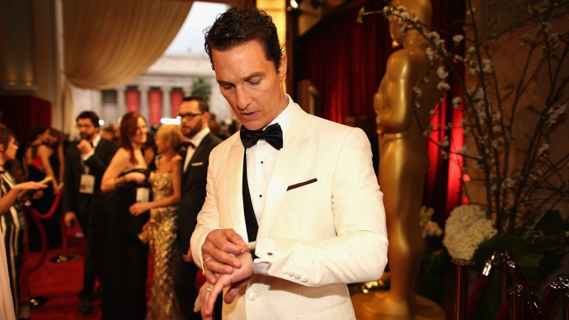 Matthew McConaughey, Most Popular Celebs in 2015, Actor, 86th Academy Awards, oscar, award