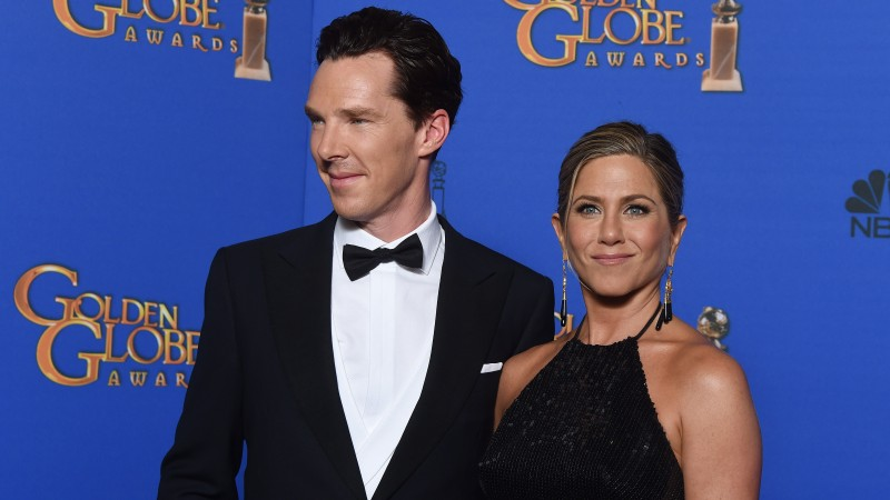 Benedict Cumberbatch, Jennifer Aniston, Most Popular Celebs in 2015, actor, film producer, actress