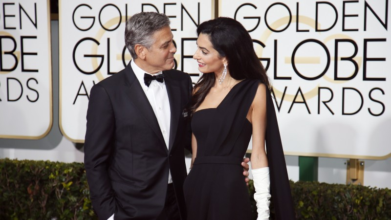 George Clooney, Amal Alamuddin, Most Popular Celebs in 2015, actor, writer, producer (horizontal)