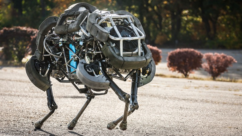 Boston Dynamics Wild Cat, Best Robots of 2015, robot, Wild Cat, Cheetah, four-footed, running, speed, review, Google