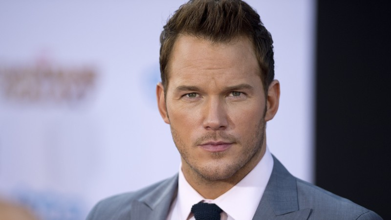Chris Pratt, Most Popular Celebs in 2015, actor, Guardians of the Galaxy, movies, Peter Quill, Star-Lord (horizontal)