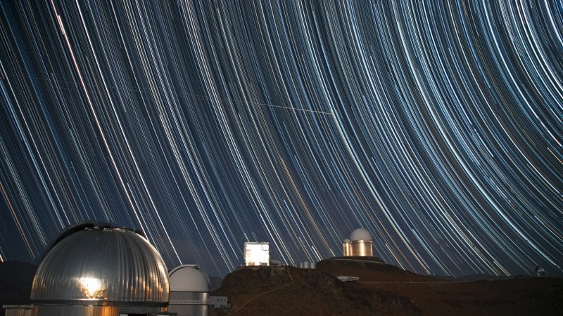 sky, exposure, observatory, astronomy, photo, stars, night