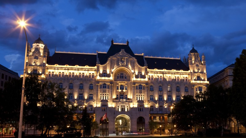Four Seasons Hotel Gresham Palace, Budapest, Best Hotels of 2017, tourism, travel, vacation, resort (horizontal)