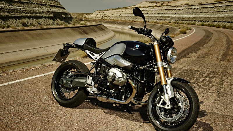 BMW R nineT, motorcycle, 2015, bike, review, test drive, speed, buy, rent, side, road (horizontal)