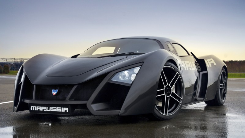 Marussia, supercar, sports car, luxury cars, Russian, front, review, test drive (horizontal)