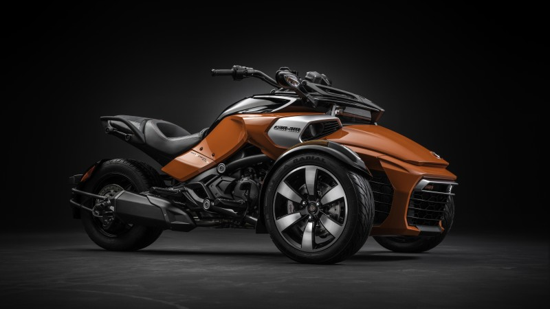 BRP Can-Am Spyder, F3-S, roadster, motorcycle, cruiser, review, test drive, buy, rent (horizontal)
