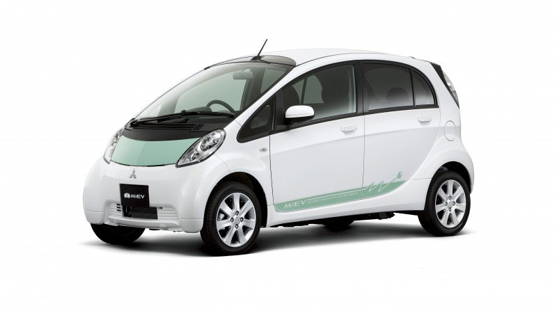 Mitsubishi CA-MiEV, concept, hybrid, ecosafe, electric cars, city cars, review, test drive, front, side (horizontal)