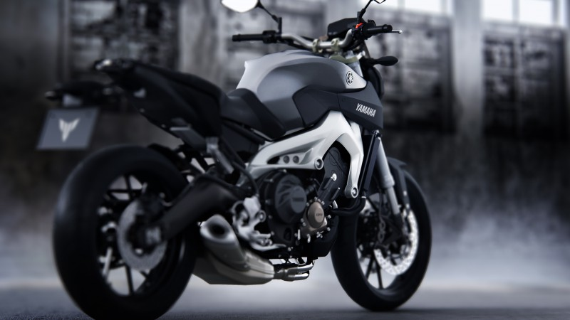 Yamaha MT-09, Streetfighter, motorcycle, racing, sport, bike, test drive, buy, rent, road (horizontal)