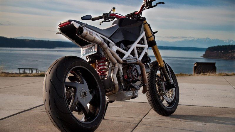 Ducati Monster, 1100 EVO, motorcycle, racing, sport, bike, test drive, buy, rent, road (horizontal)