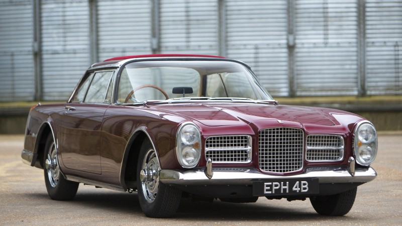 Facel Vega, Facellia, III, 3, classic cars, sports car, front, rent, buy, HK500, FVS, Excellence