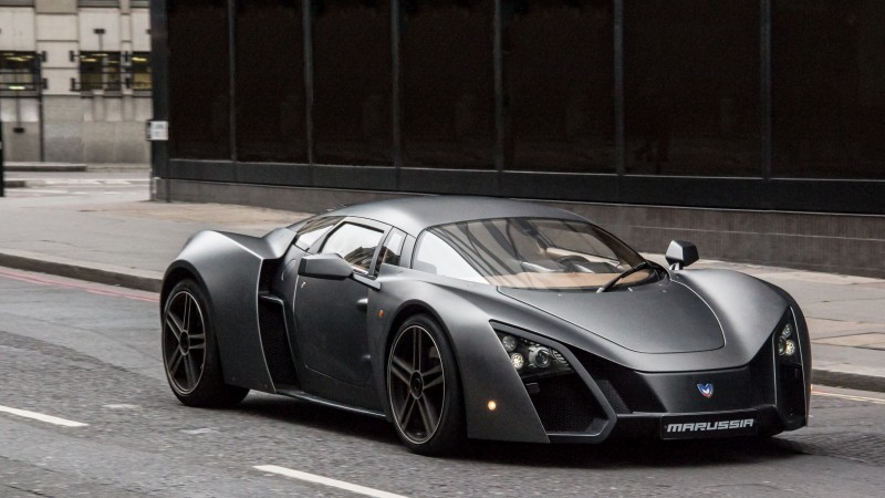 Marussia, supercar, sports car, luxury cars, Russian, front, review, test drive