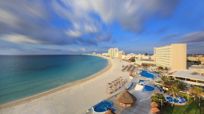 Cancun, Mexico, Best beaches of 2017, tourism, travel, resort, vacation, sea, ocean, beach, sky