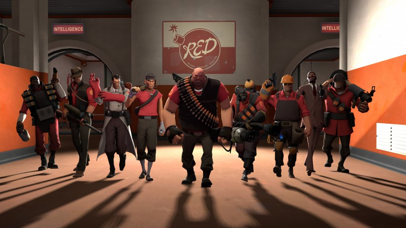 Team Fortress 2, TF2, FPS, mod, modification, screenshot, 4k, 6k, 8k, Ultra HD, HD, characters, review (horizontal)