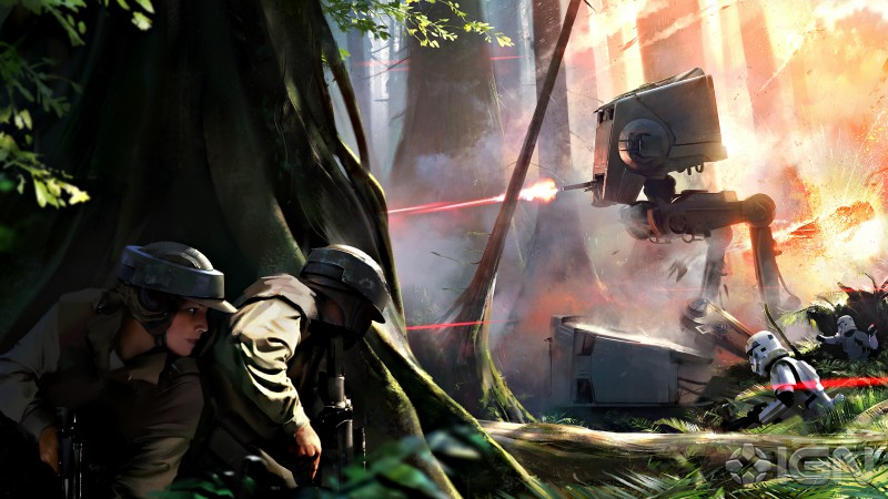 Star Wars Battlefront, DICE, Best Games 2015, game, Star Wars, review, gameplay, screenshot, art, PS4, xBox One, PC
