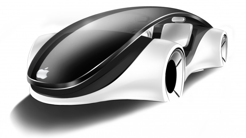 Apple iCar, code name Titan, concept, electric cars, city cars, ecosafe (horizontal)