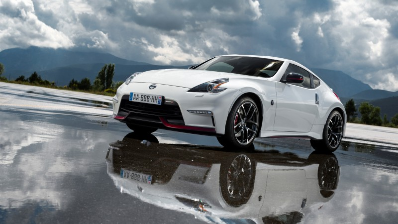 Nissan 370Z, NISMO, Fairlady Z, sports car, luxury cars, review, test drive, white, front (horizontal)