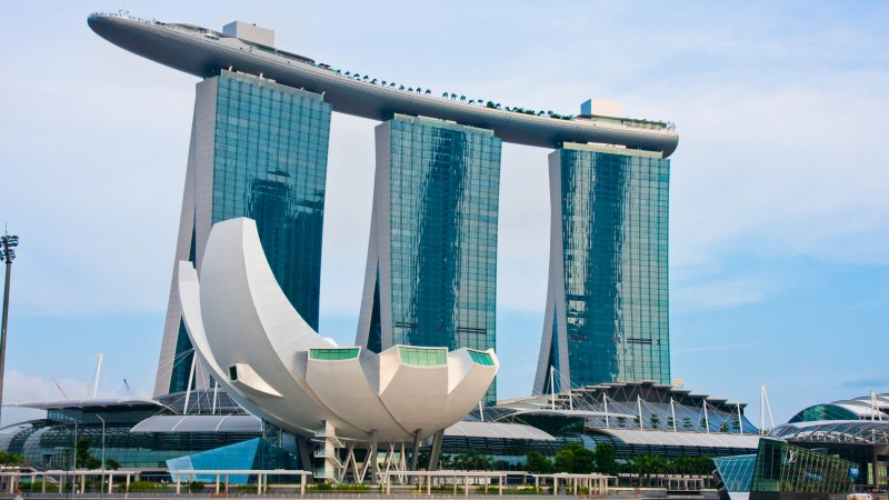 Marina Bay Sands, hotel, travel, booking, pool, casino, Singapore (horizontal)