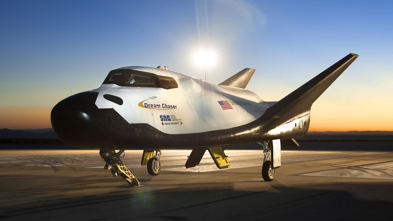 SpaceDev Dream Chaser, Space Transportation System, spaceship (horizontal)