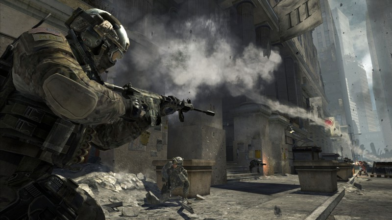 Call of Duty, World at War, shooter, CoD, soldier, WaW, zombie, iOS, review, screenshot, gameplay (horizontal)