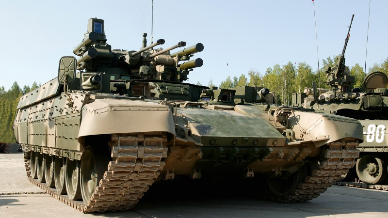 bmpt terminator BMPT-72, Tank Support Combat Vehicle, Russian Army