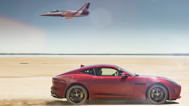 Jaguar F-Type, Coupe, Best Cars 2015, sports car, luxury cars, test drive, desert, jet, rent, buy