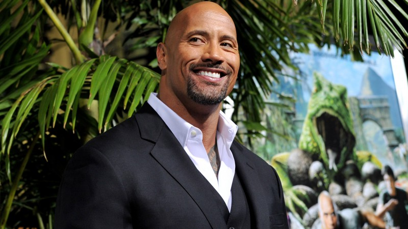 Dwayne Johnson, Most Popular Celebs in 2015, actor, producer, wrestler, Transformers 5 2016, Furious 7, San Andreas (horizontal)