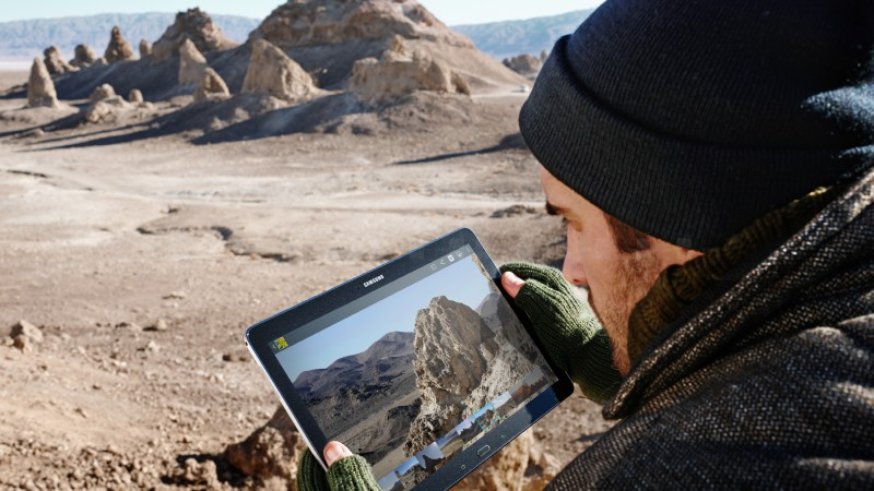 Samsung GALAXY Tab S, Best Tablets 2015, smartphone, review, travel, desert